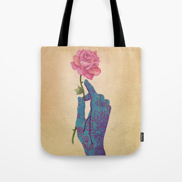 Beautiful pain Tote Bag