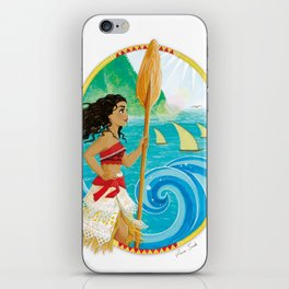 Explorer of the sea iPhone Skin