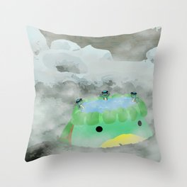 Kappa Bath Throw Pillow