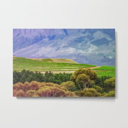 Greener on the Other Side Metal Print