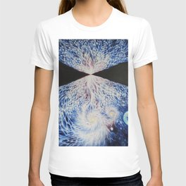 Aview of the universe after the Big Bang T-shirt
