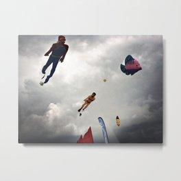 Flying sea Metal Print