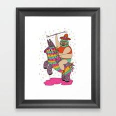 Pinata Party Framed Art Print