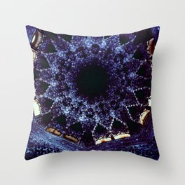 Looking Up Stalactite Dome, Alhambra Throw Pillow