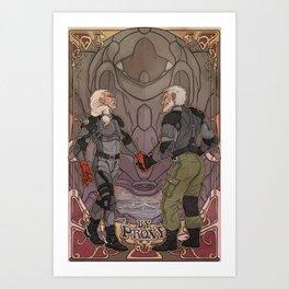 By Proxy Art Print