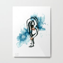 The acrobat Metal Print