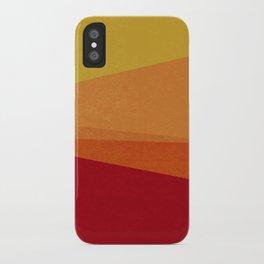 Stripe X Orange Peel iPhone Case