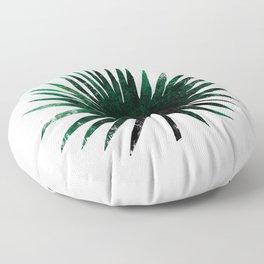 Round Palm Leaf Floor Pillow