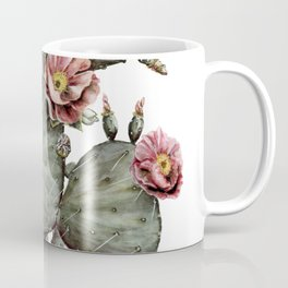 Prickly Pear Cactus Painting Coffee Mug