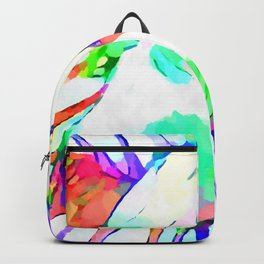 Cow Watercolor Backpack