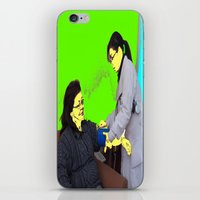 doctor iPhone & iPod Skins featuring Doctor by lookiz