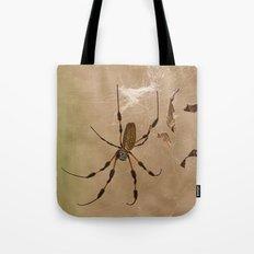 Florida banana Spider Tote Bag