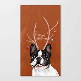 Beatriz : Christmas Canvas Print