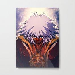 Yu Gi Oh  Bakura Metal Print