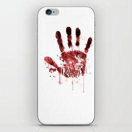 Zombie Handprint iPhone Skin