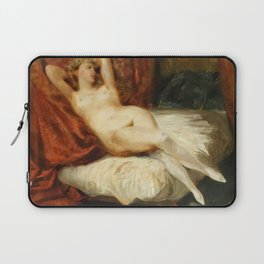 "Eugène Delacroix ""La Femme aux bas blancs (Study of Female Nude Reclining on a Divan)"" Laptop Sleeve"