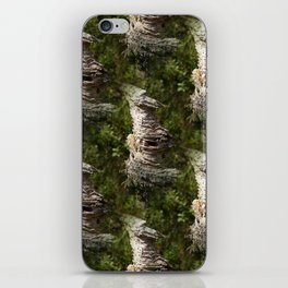 Natural artwork of the forest iPhone Skin