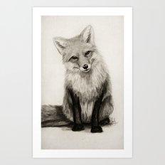Fox Say What?! Art Print