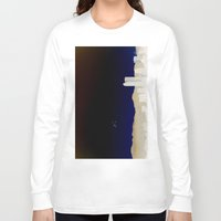 denver Long Sleeve T-shirts featuring Denver Flyby by Augustina Trejo