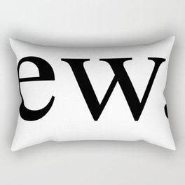 Ew Gross Rectangular Pillow
