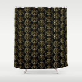 Jazzy Pattern Shower Curtain