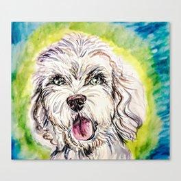Doodle Dog Canvas Print