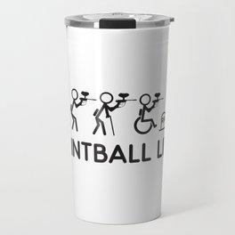 Paintball Life Gift Travel Mug