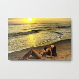 Sexy sunset Metal Print