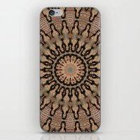 kardashian iPhone & iPod Skins featuring Kim Kardashian by Celebrity Mandala