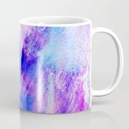 Hand painted blush pink teal blue watercolor brushstrokes Coffee Mug