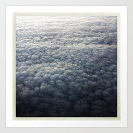 cloud carpet Art Print