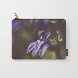 Dramatic Blue Cardinal Flower Botanical / Floral / Nature Photo Carry-All Pouch
