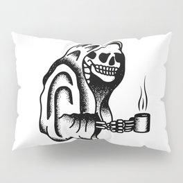 Death before Decaf Pillow Sham