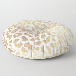 ReaL LeOpard - Greek Ancient Gold Floor Pillow
