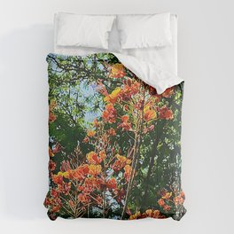Flowers In The Trees Scenic Art Photo Comforters