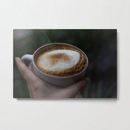 I like you a latte Metal Print
