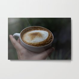 I like you a latte Metal Print