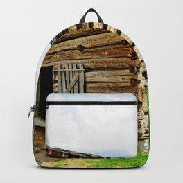 Historic Log Cabin Backpack