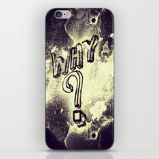 What I've Wondered For Years iPhone & iPod Skin