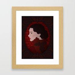 Crimson Peak - Lucille Framed Art Print
