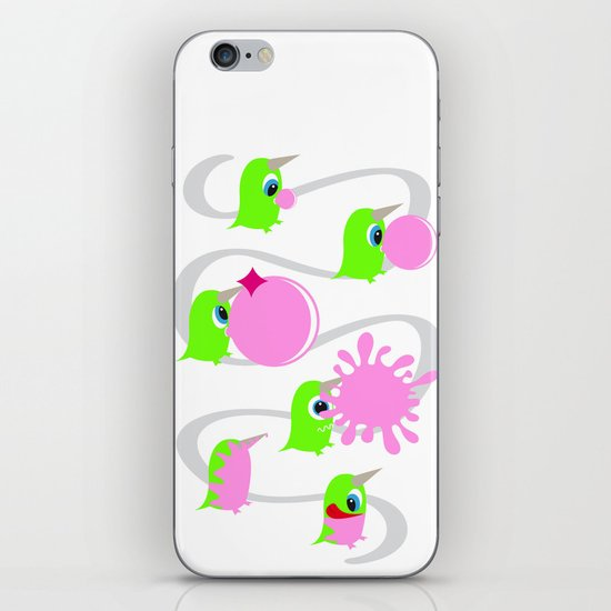 Bubol bubble gum iPhone & iPod Skin