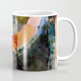 Artful Spirit Mosaic Bold Pattern Colorful Geometric Abstract - Corbin Henry Coffee Mug