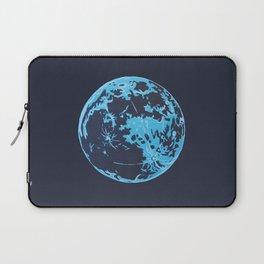 Turquoise Moon Laptop Sleeve
