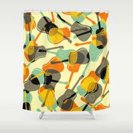 Guitarra Shower Curtain