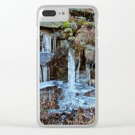 Icicles Clear iPhone Case