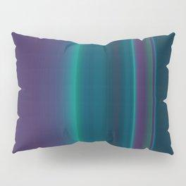 Royal Purple Aqua Stripes Pillow Sham