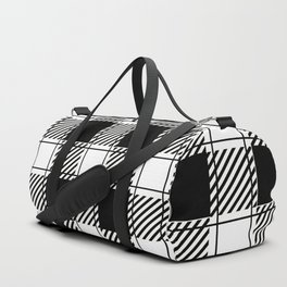 Twisted Classic Plaid Duffle Bag