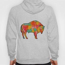 The Buffalo of Many Colors Hoody