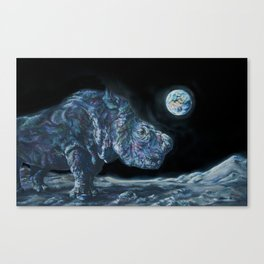 Sudan on the Moon Canvas Print