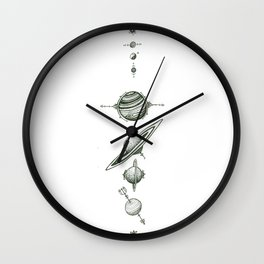 Lumbar Wall Clock